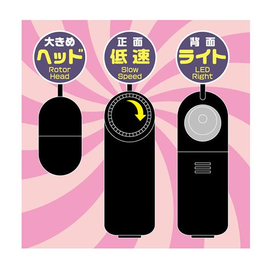 Ultra-Low Speed Micro Vibration Onedari Vibe
