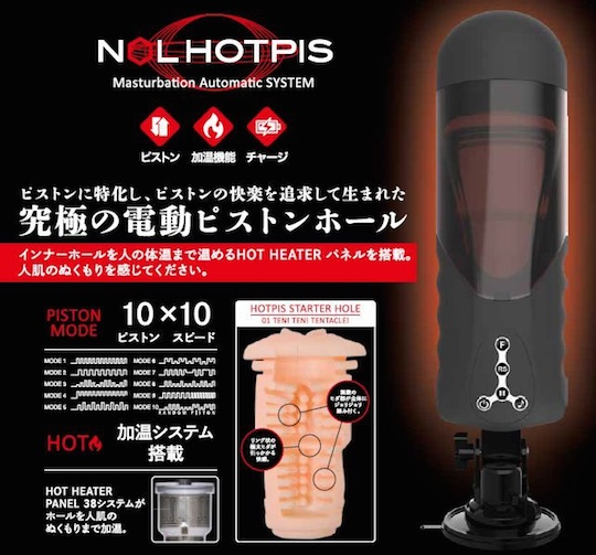Nol Hotpis Heated Sex Machine