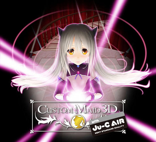 Custom Maid Girl 3D Game with Ju-C Air
