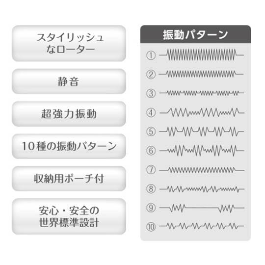 Kiwami Ten Chrysalis Freeze Vibrator