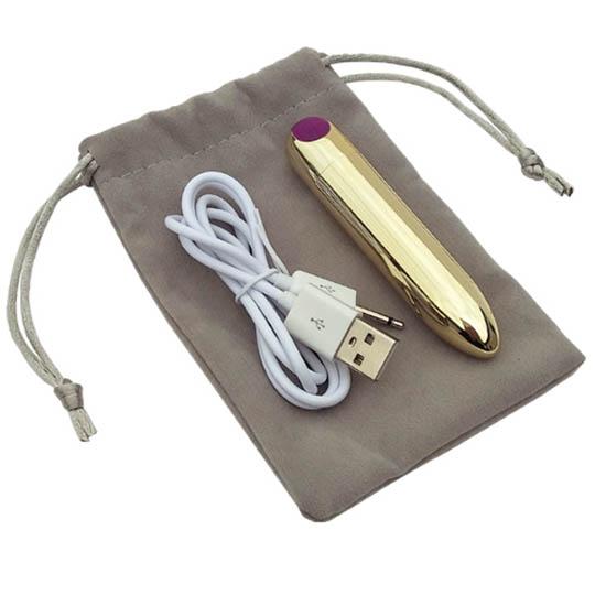 Kiwami Ten Chrysalis Golden Vibrator