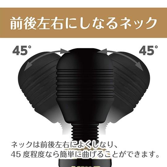 Kiwami Ten Denma Vibrator Jet Black