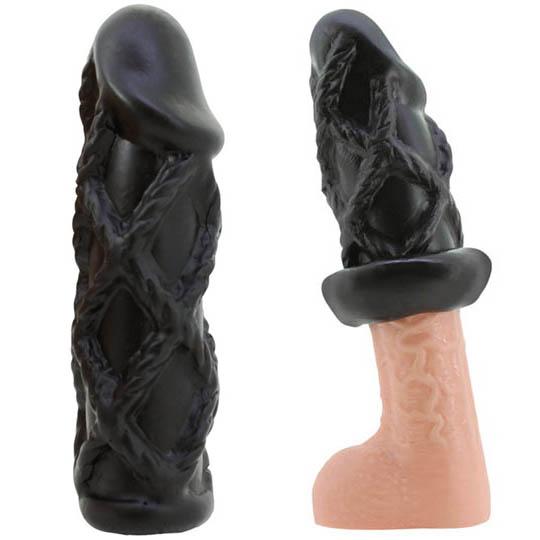 Demon Orgasm Ikase Shibari Rope Cock Sleeve
