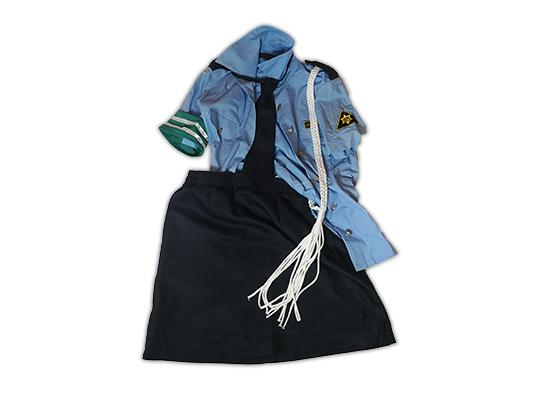 Yurina Used Policewoman Uniform Cosplay Costume