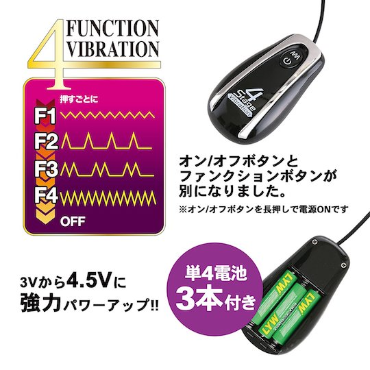 Back Fire Tama Goroshi Anal Vibrator