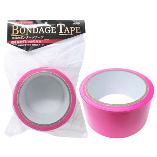 Non-Adhesive BDSM Bondage Tape Rose Pink