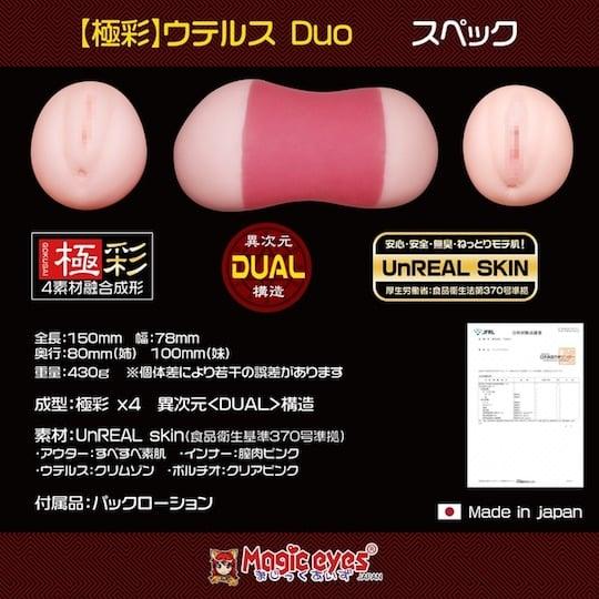 Gokusai Uterus Duo Onahole