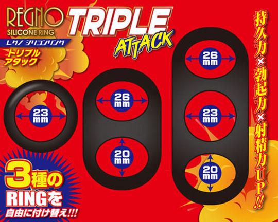 Silicone Ring Triple Attack