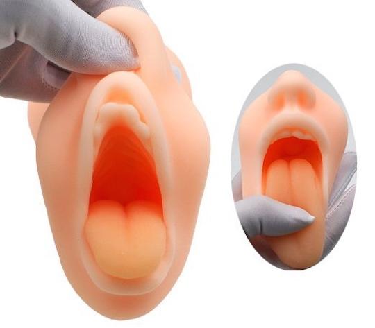 Manzoku Exquisite Tongue Mouth Blow Job Masturbator
