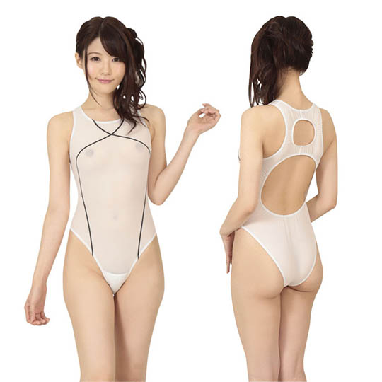 Super Sexy See-Through Japanese Swimsuit