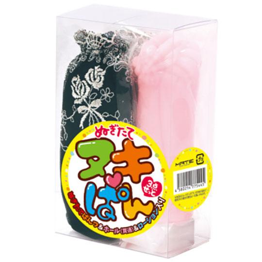 Nuki Pan Used Panties, Onahole, Lubricant Set