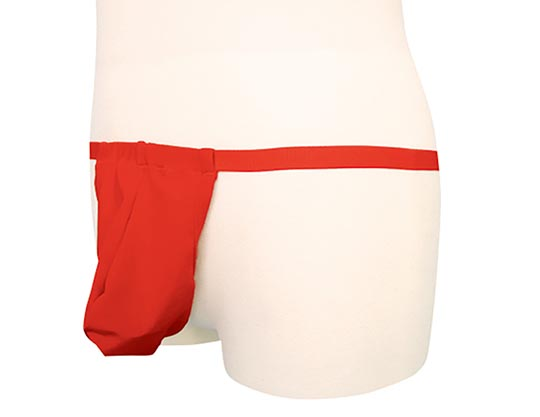Cock Ring Pouch Red Fundoshi