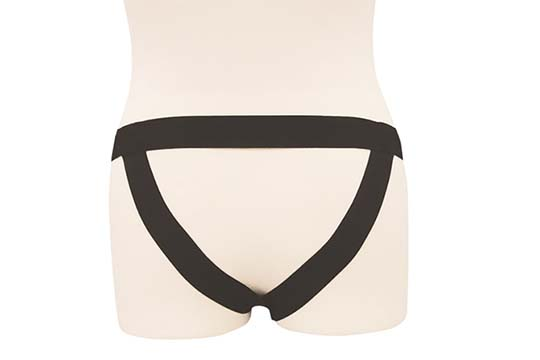 Shiny Enamel Jockstrap Ring Shorts Underwear