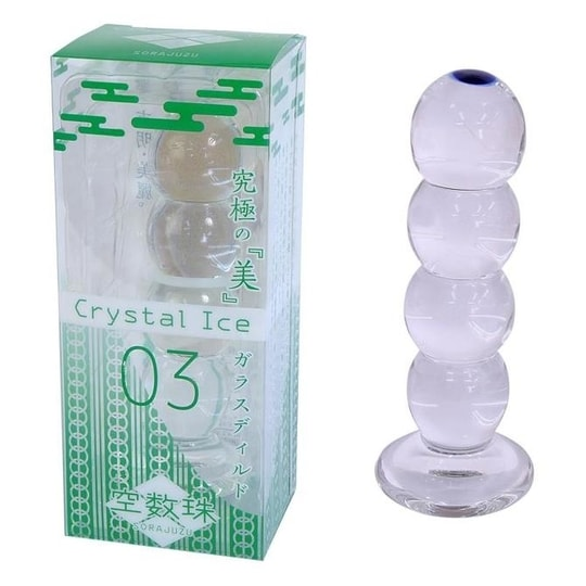 Crystal Ice Sorajuzu Glass Anal Dildo