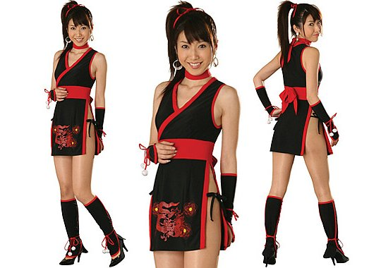 Ninja Princess Cosplay Set