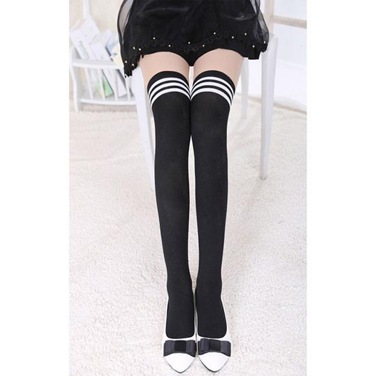 Extra Soft High School Girl Knee-High Socks