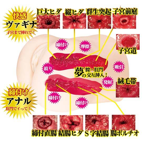 Rika Mari Mini Gokujo Namagoshi Ultimate Hips Onahole