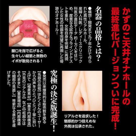 Meiki no Hinkaku Black Label Onahole