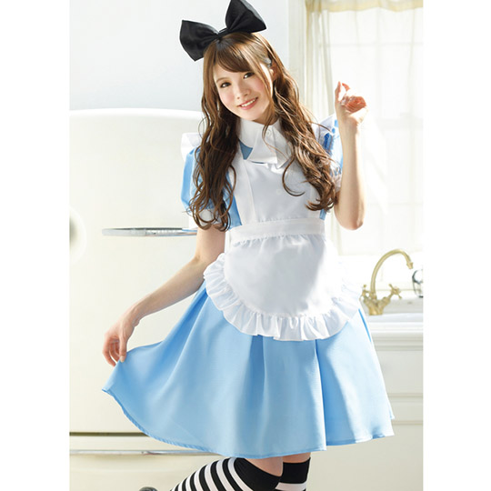 Minami Aizawas Favorite Costume Blue Maid