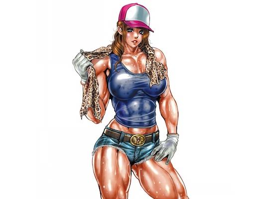 Yumi Hijikata Japanese Female Bodybuilder Fetish Onahole