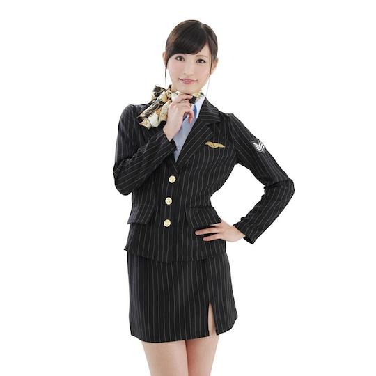 High-Class Flight Attendant Costume
