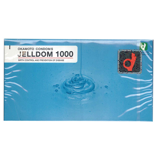 Okamoto Condoms Jelldom 1000 (12 Pack)