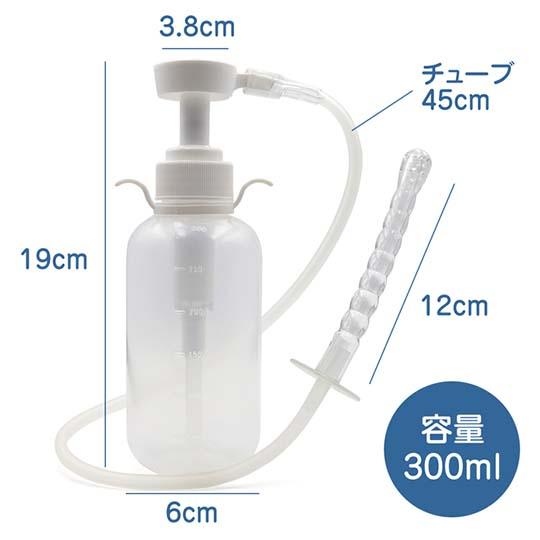 Anal Cleansing Pump Kit 300 ml (10.1 fl oz)