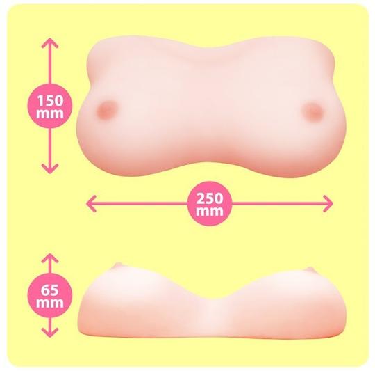 Fuwafuwa Oppai Realistic Breasts Paizuri Toy