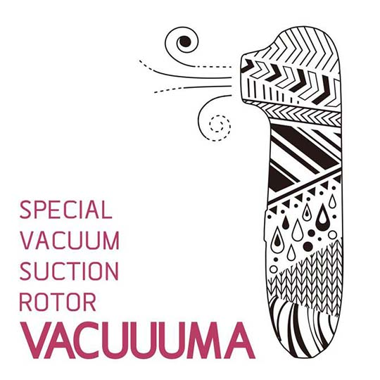 Vacuuuma Clitoris Suction Vibrator