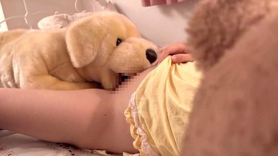 Teddy Bear Saliva Tongue Cuddly Toy Sex