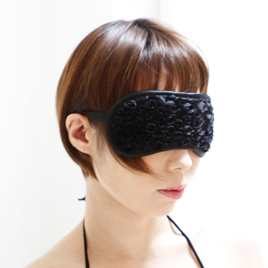 SM VIP Eye Mask Black Flower