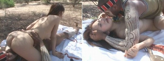 Japanese sex in african photo #10