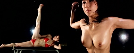 Japanese bodybuilder porn