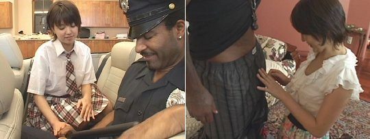 Black Police Officer J-Girl Sex Arrest SOD