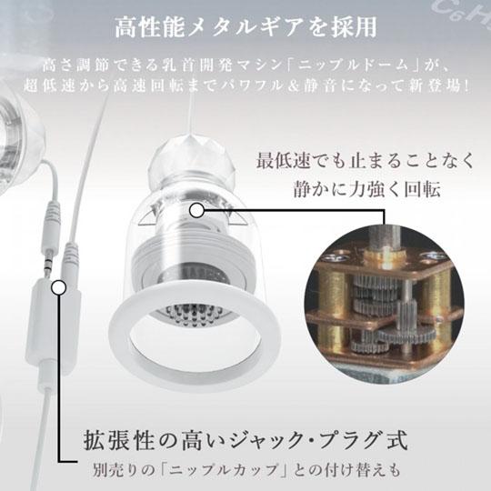 Nipple Dome R Jack Type
