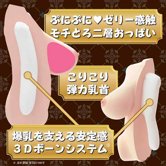 Real Body 3D Bone System Huge Breasts Kanon Kitaoji