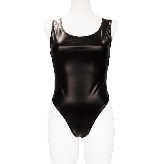 Shiny Enamel Butt-revealing Swimsuit for Otoko no Ko