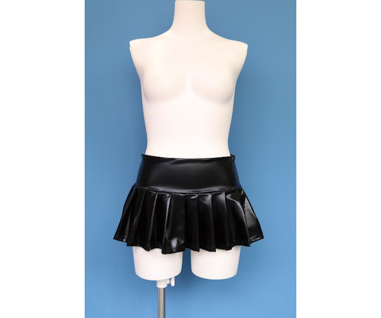 Otoko no Ko Cross-dresser Enamel Pleated Miniskirt