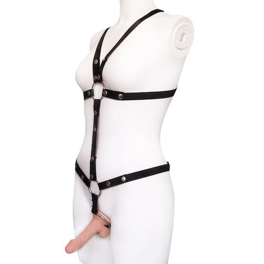 Cock Ring Bondage Harness