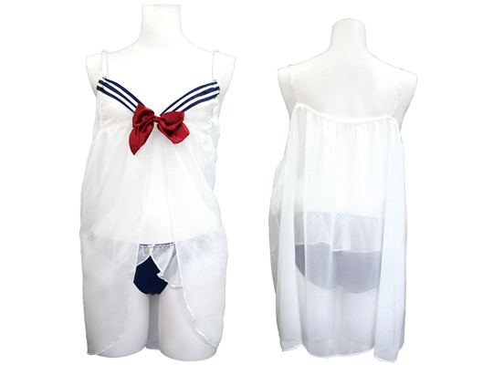 Sailor Babydoll Negligee and Panties Otoko no Ko 3L