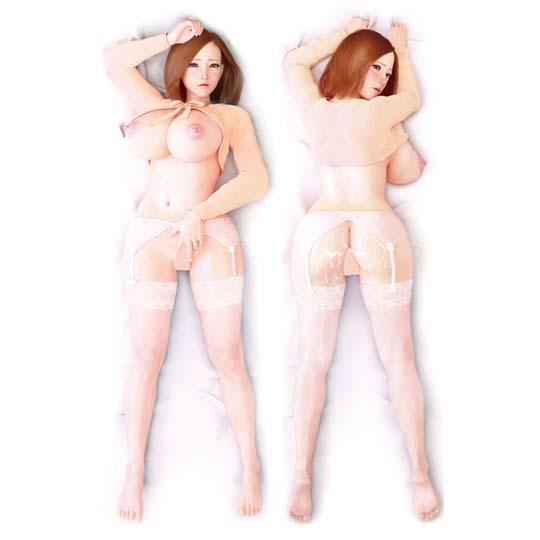 Insert Air Pillow Futamata Cover #28 Japanese Sex Doll