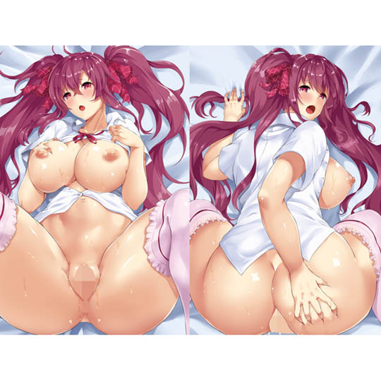 Insert Air Pillow DX Cover 79 Busty Redhead