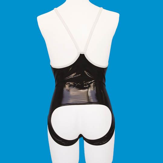 Otoko no Ko Shiny Enamel Open Back School Swimsuit Costume