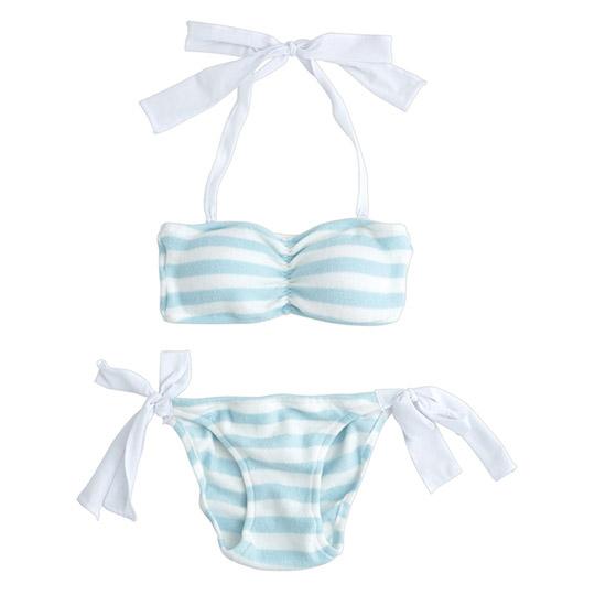 Kaorus Closet Stripy Bra and Panties Set