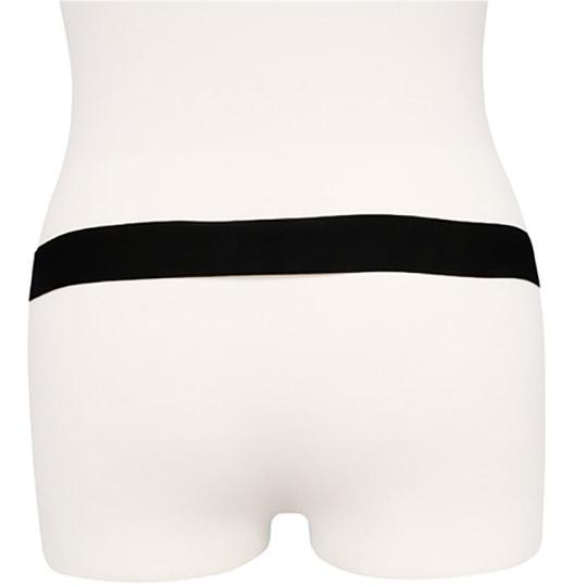 Shiny Enamel Double Cock Ring Underwear