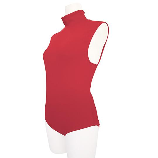 Sleeveless Red Bodysuit for Otoko no Ko
