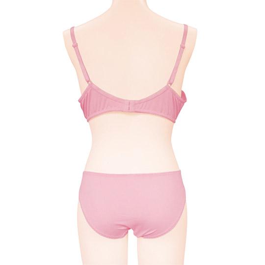 Pink Lacy Bra and Panties for Otoko no Ko