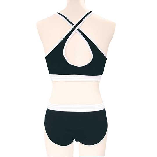 Black Sports Bra and Panties for Otoko no Ko