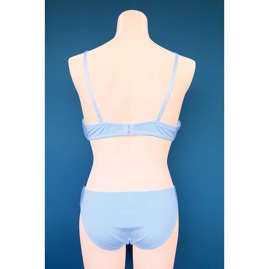 Blue Check Bra and Panties for Otoko no Ko