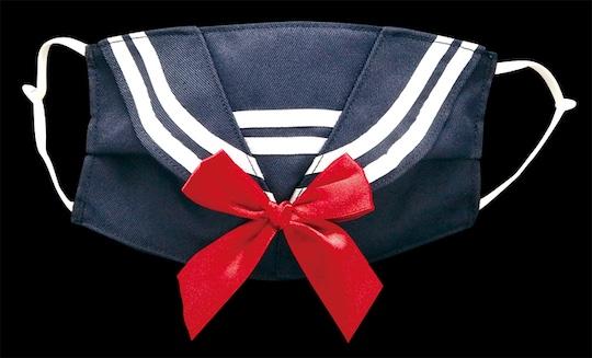 Sailor School Uniform Face Mask